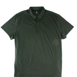 One men's polo shirt